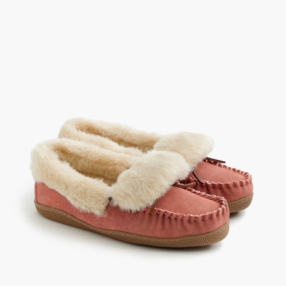 J.Crew Lodge Moccasins