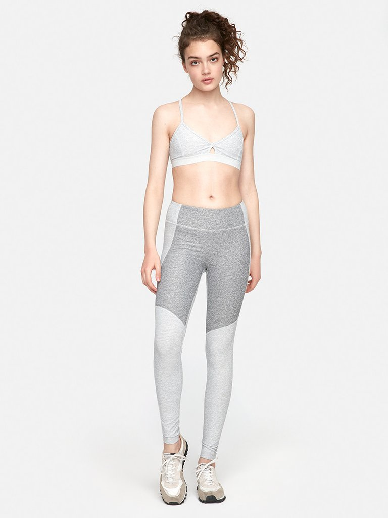 Two-Tone Warmup Legging