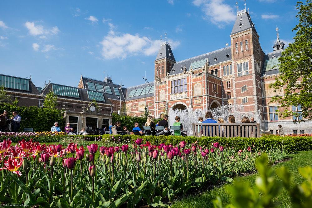 The Rijksmuseum; image  via