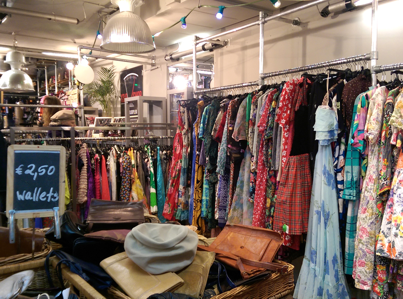 One of Amsterdam's many vintage stores; image via