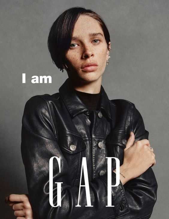 Gap's latest campaign, compared alongside CK's popular #mycalvins ads; image  via