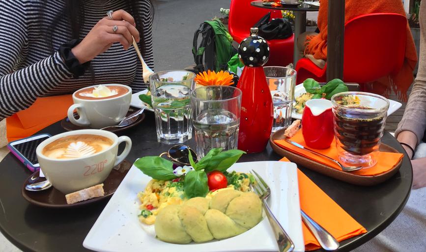 220º Cafe in Salzburg.