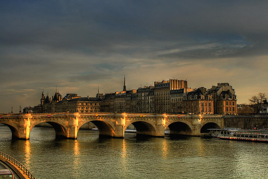 The view from Pont Neuf; image  via
