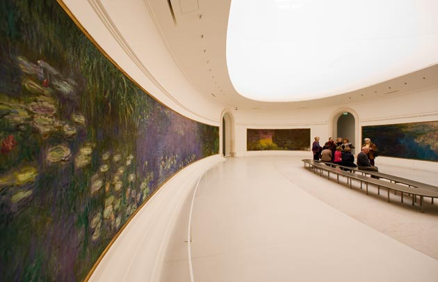 Musee L'Orangerie; image  via