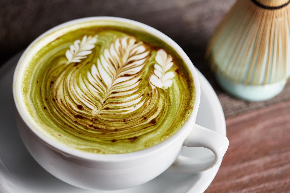 Matcha Tea at Sawada Coffee