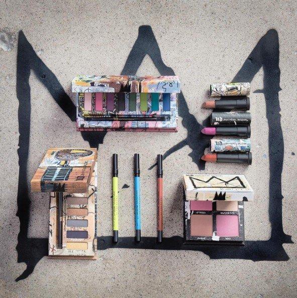 Urban Decay's Jean-Michel Basquiat Collection. Image  via.