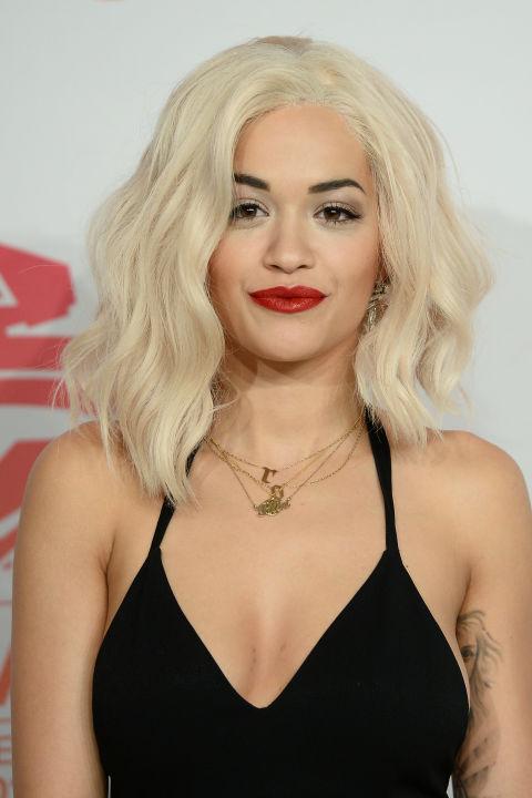Rita Ora; image  via
