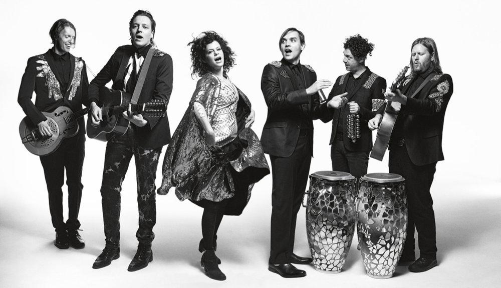 Arcade Fire; image  via