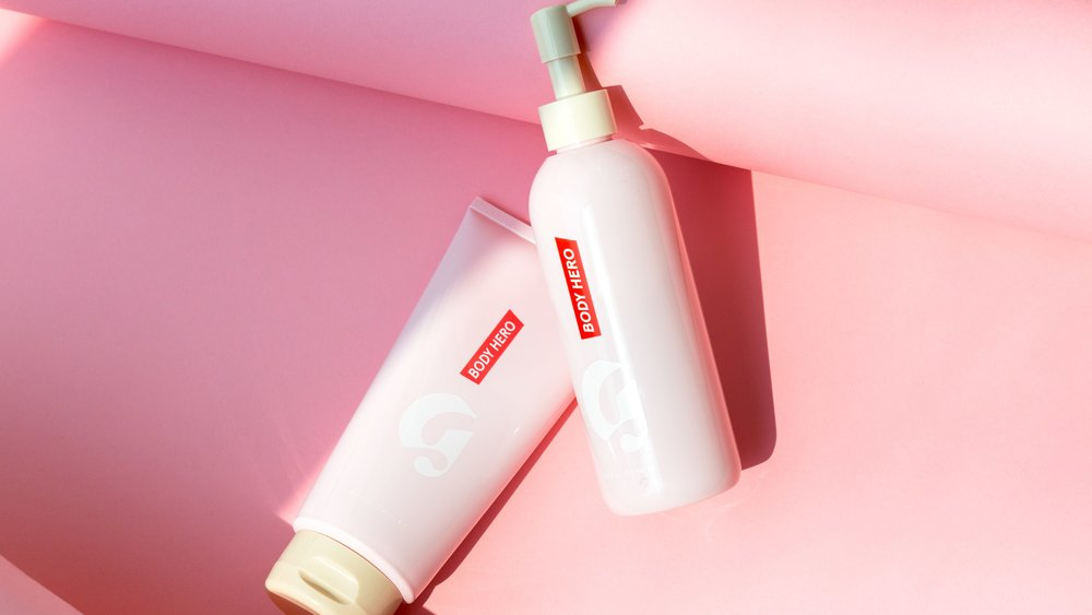 Glossier's Body Hero Duo - I bought this newest drop of Glossier's in their showroom in New York City, and I am in love. It smells subtly sweet, goes on smoothly, and truly moisturizes the skin. My favorite of the duo is the glow-inducing Body Lotion. Image via