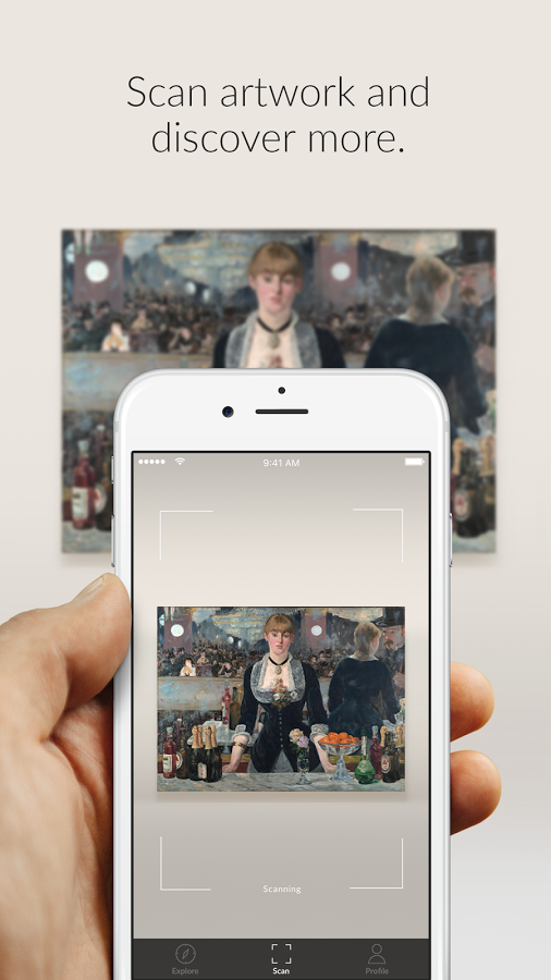 Smartify - Think Shazaam but for art.  Scan any artwork (paintings, sculptures, etc.) with your phone camera and Smartify scours its extensive (and constantly updated) database for the precise match, giving you information about the piece's title, artist, history and more. The app has already been incorporated into a handful of top tier museums around the world, so it's art snob approved. Read more about it here.