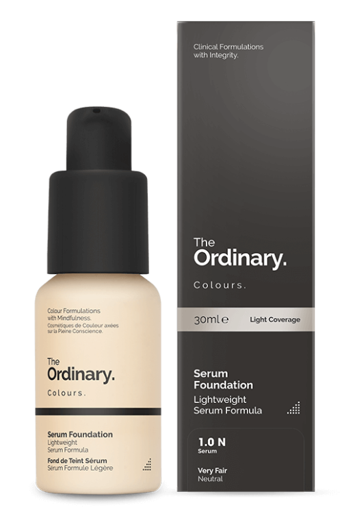 serum foundatino - lightweight medium-coverage formulations available in a comprehensive shade range across 21 shades, offer moderate coverage that looks natural with a very lightweight serum feel (I have this and can vouch, its my new daily love!)Check it out here.