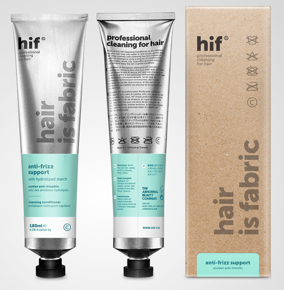 anti-frizz support - with hydrolized starchCheck it out here.