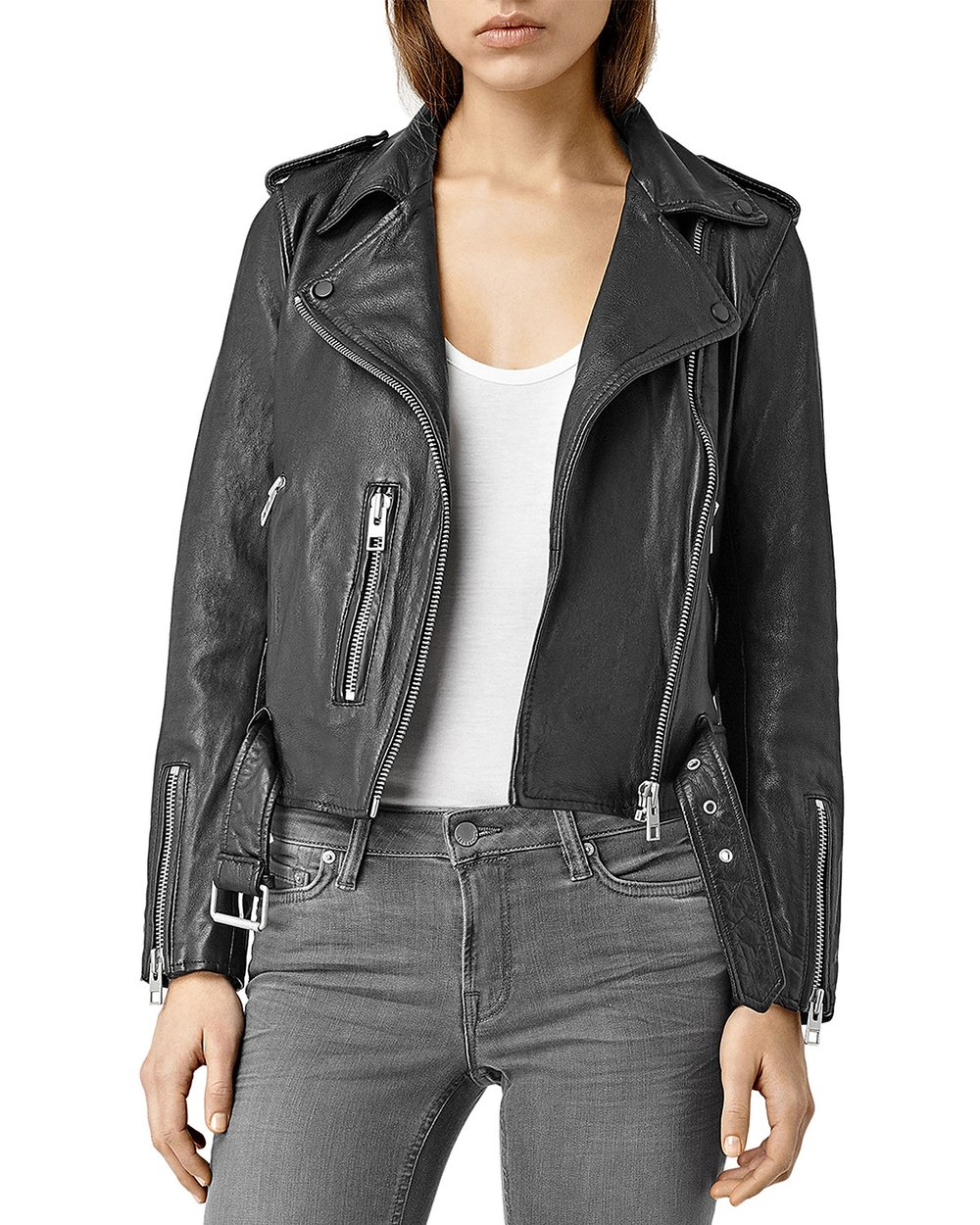 All Saints Balfern Biker Jacket - I have been lusting after this jacket for months and I have finally decided to take the plunge and buy it- and I am already so in love with it. This jacket is buttery soft, warm, and endlessly chic- and it goes with essentially everything I already own.