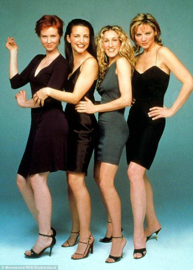 5. Sex and the City squad - The 90s are back in almost every respect in terms of fashion these days, so why not pay homage to the ultimate 90s girl squad?? Team up with three gal (or guy) pals... just make sure you don't get stuck being the Carrie of the group.