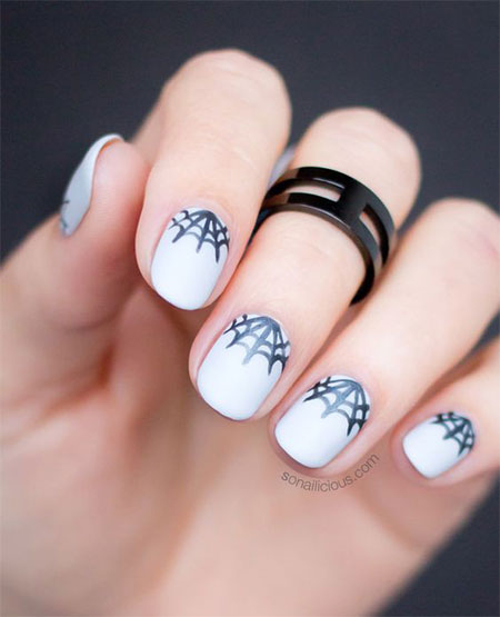 Nail Art Perfect For Halloween Moda