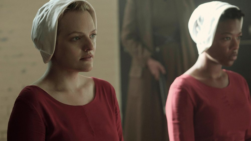 2. Handmaid's Tale - This costume idea is creepy on multiple levels, especially if you squad up with friends, but it's probably not too hard to fashion one of those weird blinders/bonnets out of a paper towel roll. Blessed be the fruit!