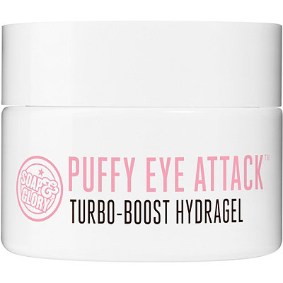 Soap & Glory Puffy Eye Attack - Not only is this eye cream super moisturizing, but its cooling gel formula helps combat dark circles. Use this every morning and night if you want to look like you got a full eight hours of sleep (despite only getting, like, three). Image via here.