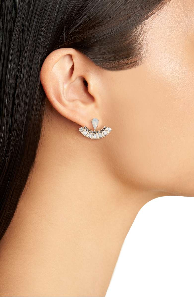 Clara Jewel Ear Jackets - Earrings usually get overlooked in a jewelry collection, so do your friend or family member a favor by getting them this dainty but detailed piece from Rebecca Minkoff!