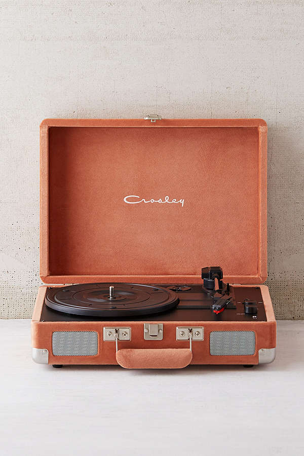 Portable Record Player - Record players really add a personal touch to your living space–especially as you start to amass a record collection of your own! I've always liked these portable Crosley record players (which you can find in an array of cool colors and finishes at Urban Outfitters (they're on sale too!!). Toss in a couple $1 vinyls from Hyde Park Records on 53rd and you've perfected the art of thoughtful gift-giving.
