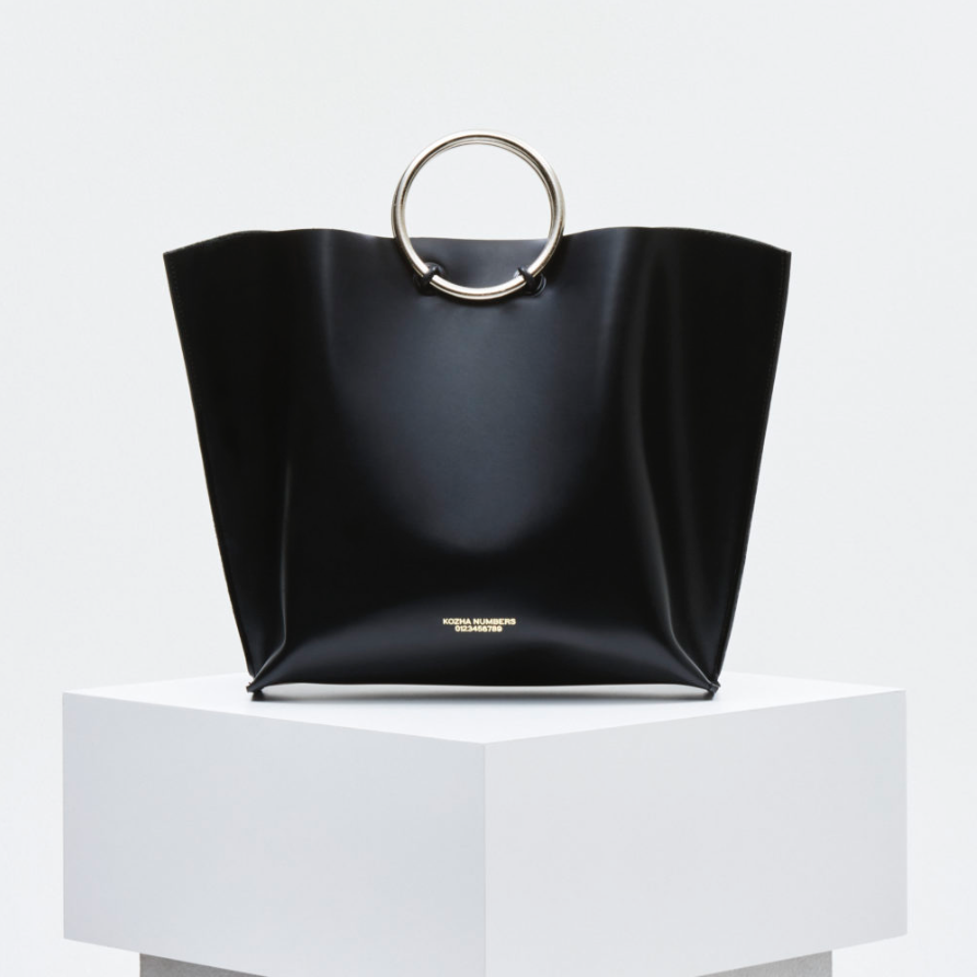 THE SAFE - Featuring smooth high grade box calf leather, 3.5 inch polished metal handles, and an unlined beautiful interior, be sure to check out the inspiration of the brand's film. Shop here.