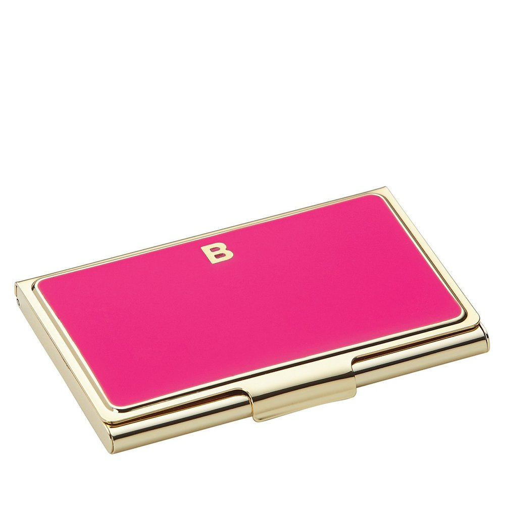 Kate Spade New York Monogram Cardholder - Cardholders are the best thing to happen to me since I graduated from my high school era of Lilly Pulitzer wristlets. They're compact, practical, and cute. Gifting this to a friend of yours will be a nod to her productivity, and you can't go wrong with Kate Spade's classic simplicity. These cardholders are available in various monogram letters, so you can customize it to your special someone.