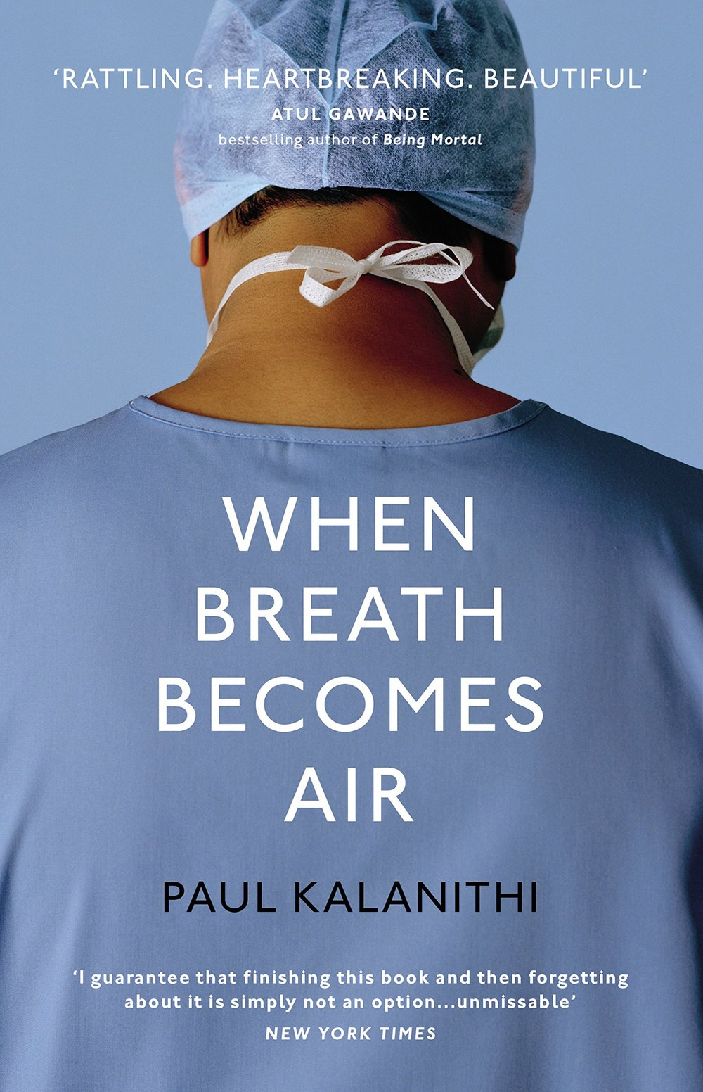 When Breath Becomes Air by Paul Kalanithi - At the brink of completing his training as a neurosurgeon, Paul Kalanithi learned that he had late stage lung cancer. In the midst of his dramatic shift from doctor to patient, Kalanithi wrote a memoir to tackle his questions on life, death, and leaving the people you love behind. Though his memoir is short (just over 200 pages), Kalanithi's philosophy and general commentary has stuck with me since completing it. I recommend this to anyone who has a couple of hours to spare. Image via here.