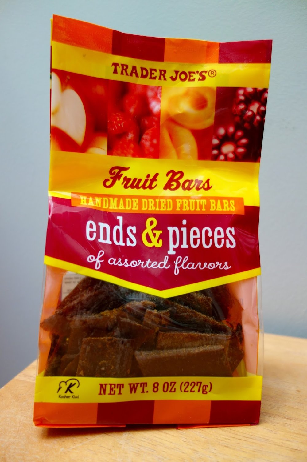 Trader Joe's ends & pieces - I realize there are bigger fish to fry, but can I just take a moment to give Trader Joe's ends & pieces a shoutout. It's essentially a bag of leftovers corners from the fruit bars they make, but let me tell you these are so amazing and delicious and the perfect