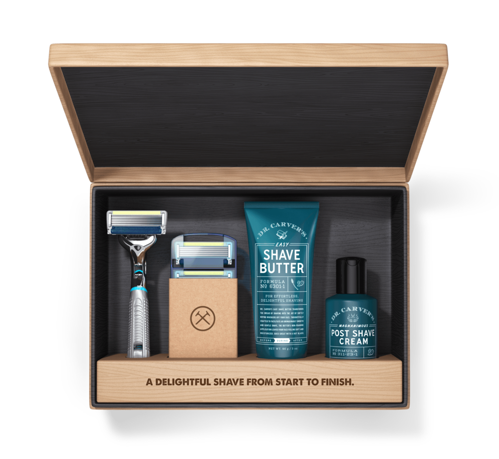 Dollar Shave Club Subscription - This might be the most practical gift I've given to anyone, mostly because it's a consistent presence and always offers high quality products. Monthly boxes include razors, razorheads, aftershave, and come with perks like traveler bags too.