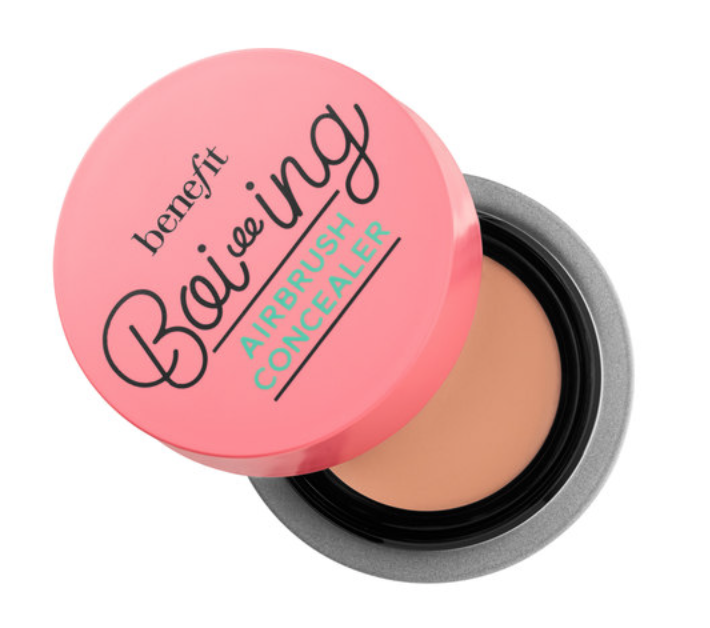 Benefit Boi-ing Airbrush Concealer - Word on the street is that Benefit recently released a whole new line of concealers (both with new products and revamped packaging for their tried and true!). As someone very much out of the makeup loop, I only know this from the banners at Sephora when I purchased this as my old one ran out. This one is pretty good - it tends to melt in a heated apartment so I keep it on my windowsill and have had no problems since! Pretty medium coverage but it does the trick for any under-eye bags and pimple scars.Shop here.