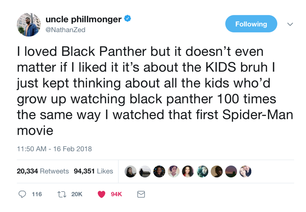 Youtuber Nathan Zed on Black Panther