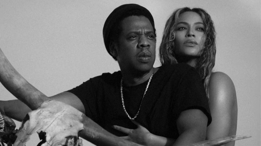 Jay-Z and Beyoncé; image  via