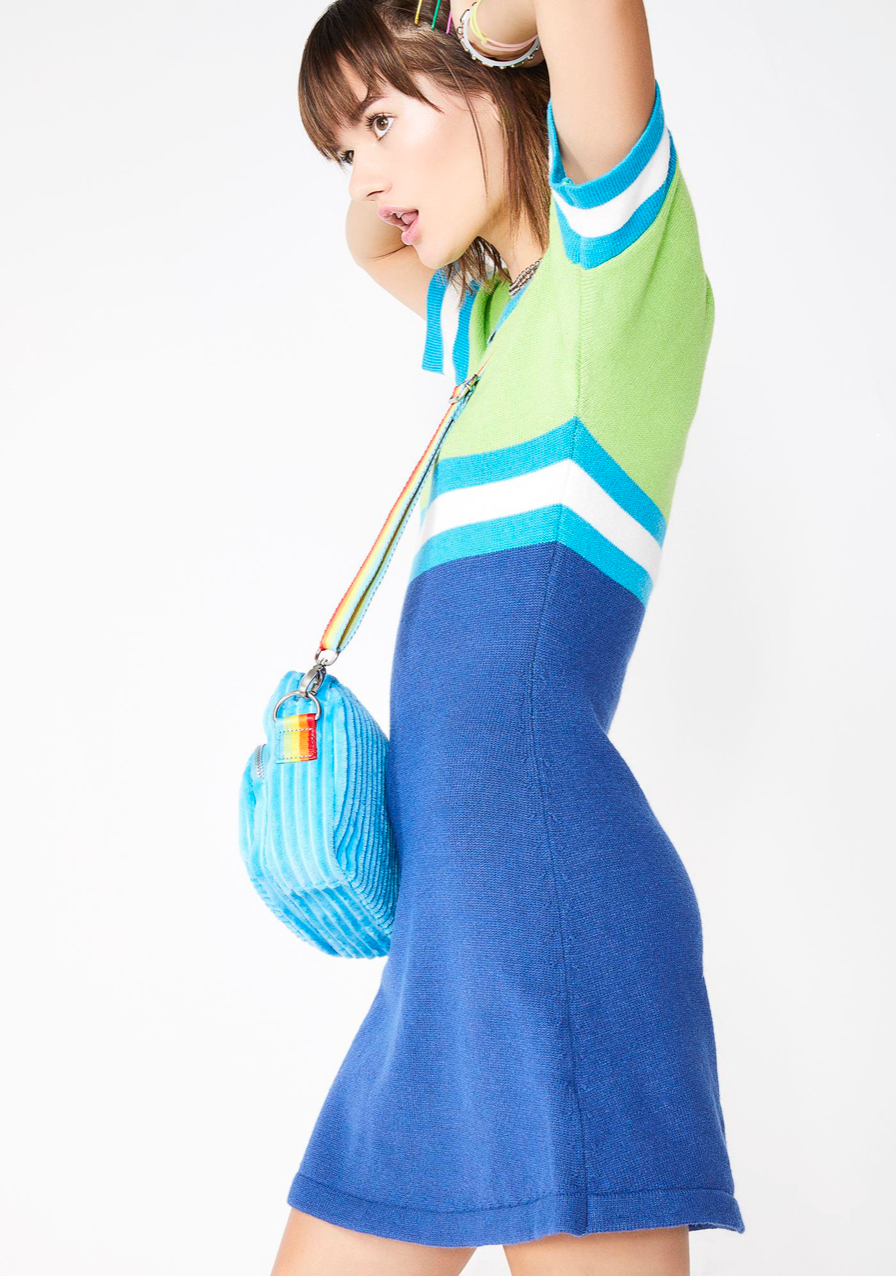Elemental Like H2O Sweater Dress