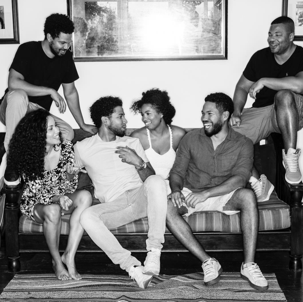 "Statement by the the Smollett family via  Smollett's sister Jurnee on Instagram :  Because there's a light in him that cannot be dimmed, because we are a family of joyful warriors, we will not let this get the best of us. Although this is a picture from happier times, this is the spirit to which we chose to move forward...they will not steal, our joy. ✊🏽✊🏽✊🏽  Statement from our family: "" In the early hours of Tuesday morning, our beloved son and brother, Jussie, was the victim of a violent and unprovoked attack. We want to be clear, this was a racial and homophobic hate crime. Jussie has told the police everything from the very beginning. His story has never changed, and we are hopeful they will find these men and bring them to justice. Our family thanks everyone for their prayers and the huge amount of love he has received. We are thankful to our village for your immense support during this trying time. We are so grateful that God saw him through this cowardly attack alive. Jussie is a warrior whose light cannot be dimmed. We want people to understand these targeted hate crimes are happening to our sisters, brothers and our gender non-conforming siblings, many who reside within the intersection of multiple identities, on a monthly, weekly, and sometimes even daily basis all across our country. Oftentimes ending fatally, these are inhumane acts of domestic terrorism and they should be treated as such. They will continue to occur until we hold each other accountable. Make no mistake, words matter. Hateful words lead to hateful actions. Radical love is the only solution, but passivity will be our downfall. We, as a family, will continue to work for love, equity and justice until it reigns supreme in our nation and all over the world.  With love & gratitude,   The Smollett Family"""