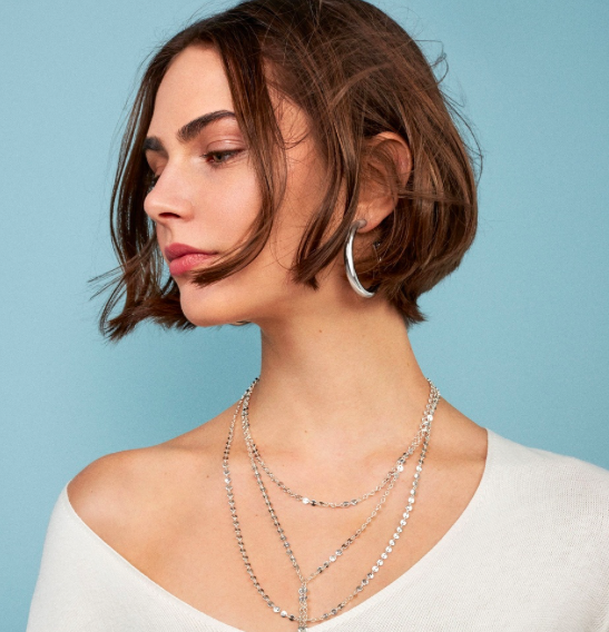 Hoop earrings - The bigger the hoop, the better. This trend has spread like wildfire, making it one of the most versatile accessories. Need something to make simple dress feel more sophisticated or throw together a street style, edgier vibe? Hoops. Are. The. Answer.