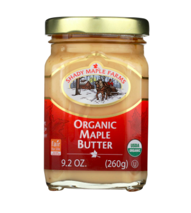 Maple Butter - How did I not know that this was a thing until stocking up for the polar vortex?!?!? As one of those terrible people who hates maple syrup I was skeptical of this little jar of maple butter at first, but holy crap, this stuff is amazing. Put it on pancakes, crackers, or just on a spoon and then in your mouth. Please go to Whole Foods right now and purchase your new guilty pleasure.