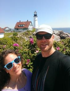 Portland Head Light on Cape Elizabeth in Maine