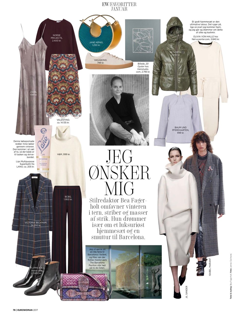 EUROWOMAN / January 2017 Diversity collection - 20 Oyster