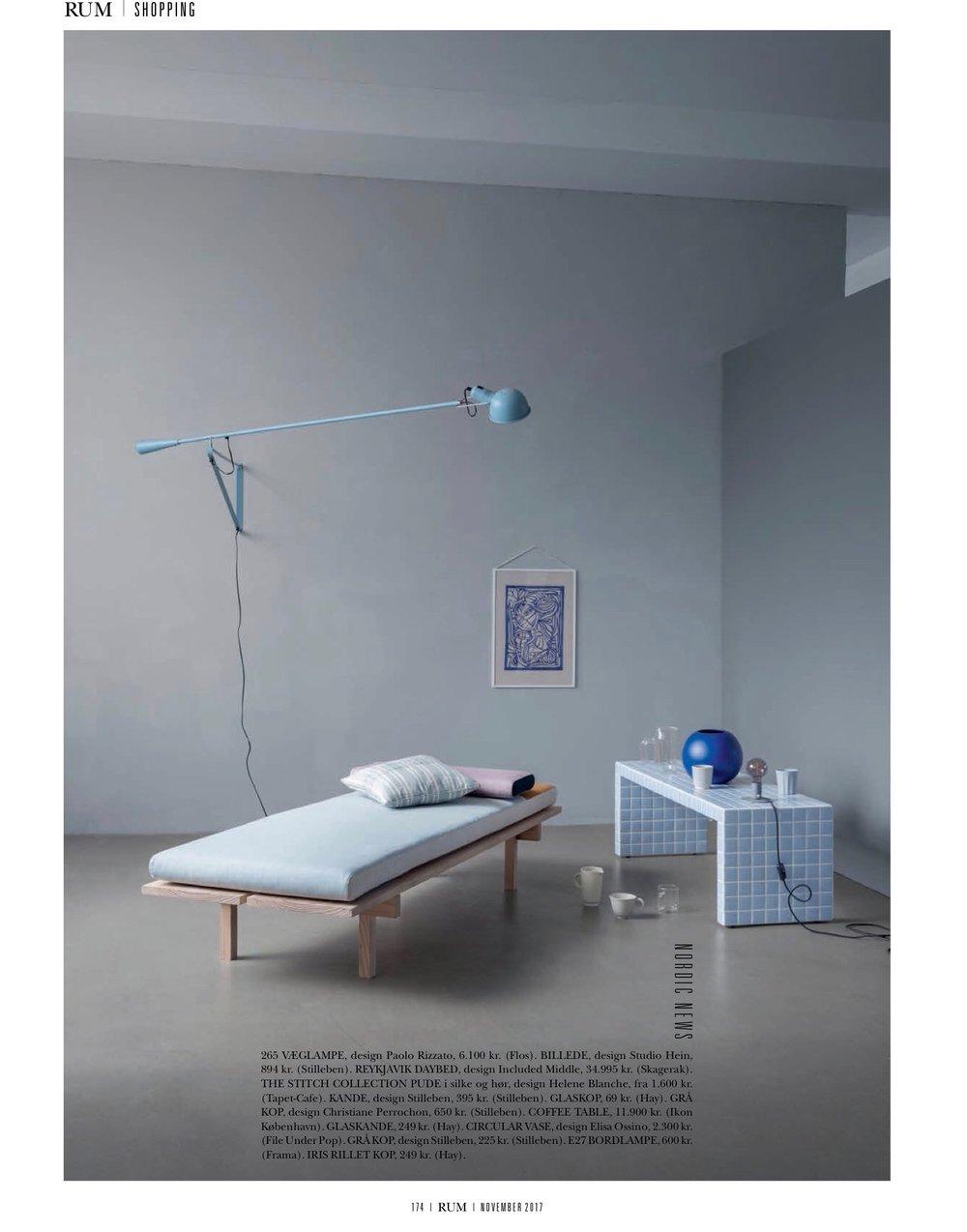 RUM Magazine / November 2017 Wonderland blue limited print