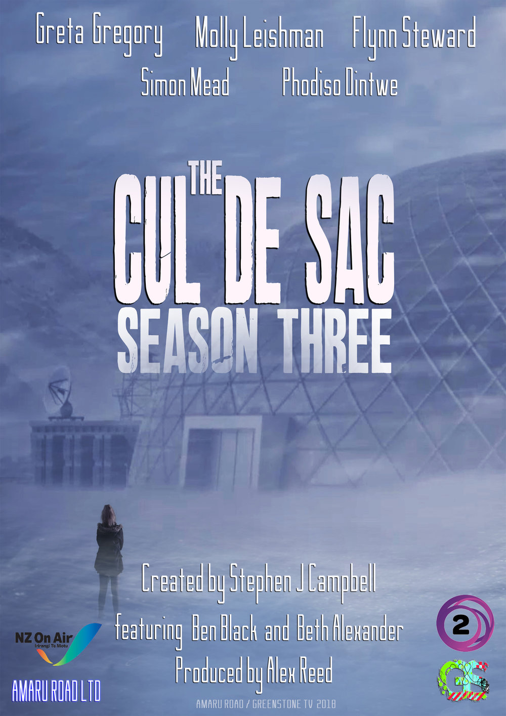 The Cul de Sac: Season Three. (TVNZ)    Rose  strives to create a normal life for her siblings. However as the malevolent forces that control the world continue to grow in strength, she learns there is a personal price to pay if she is to save her family.