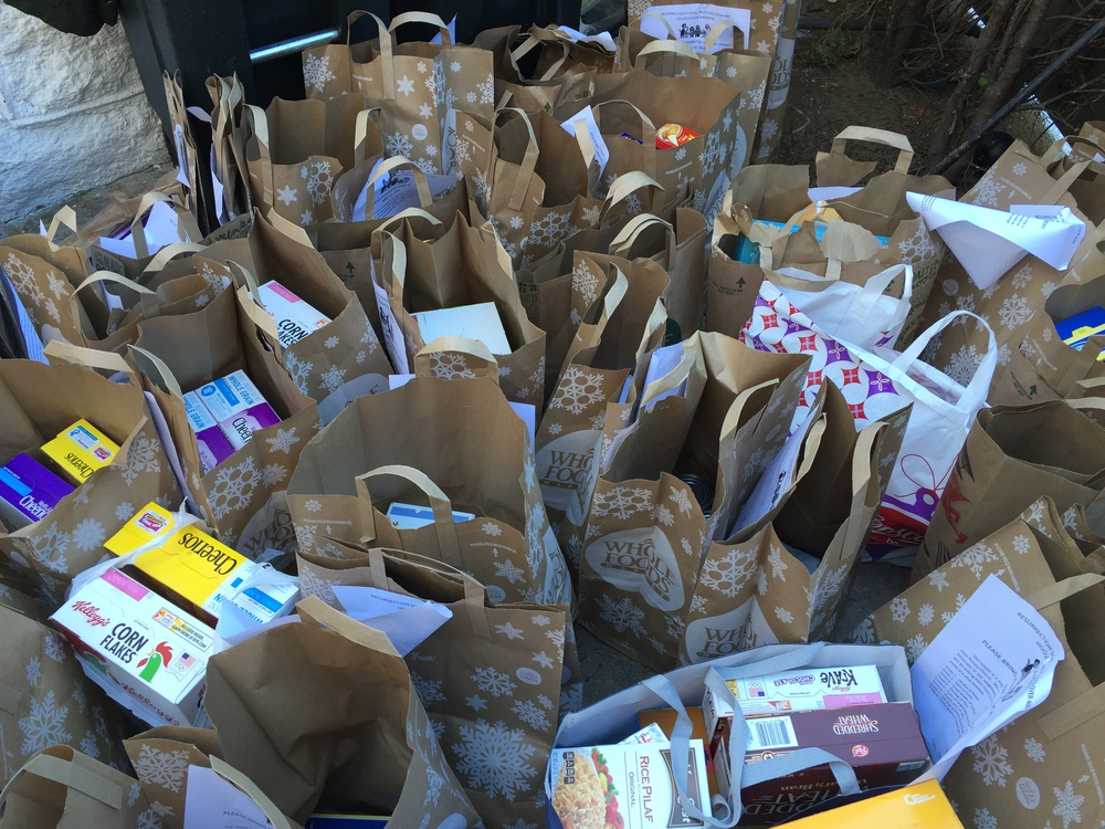 Food drives feed hundreds each year