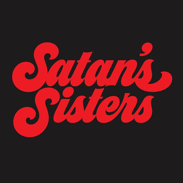 "Impress your conservative relatives this holiday season with our ""Satan's Sisters"" crewneck, link in bio 😈"