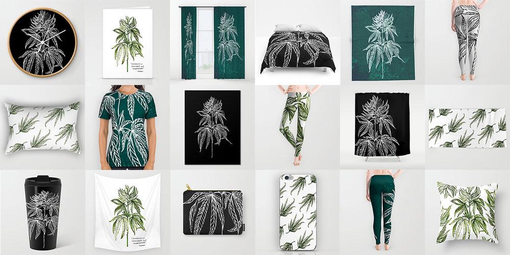 cannabis-illustration-apparel-hempsley