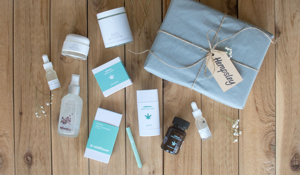 Pictured:  Wildflower,   Verte Essentials
