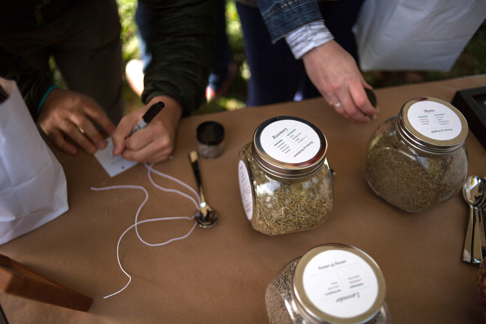 Herbal Blend Station, Photo by    Feast Native
