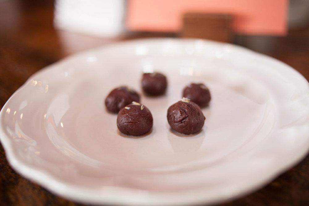 Linalool Truffles, Photo by    Feast Native