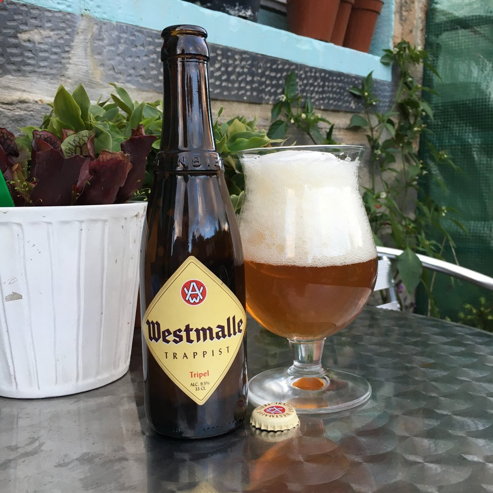 Westmalle Tripel: - One of the things I have enjoyed in my beer adventures over the last decade is how accessible it can be. Sure, some craft offerings are expensive with limited edition tallboy cans or wine-sized bottles topping out at £20 but it's reasonably easy to find genuinely world class beer for comparatively little money. There are lots of examples from Belgium (Orval, Rochefort 10, Saison Dupont) but Westmalle Triple really stands out for me. It's a subtle, heady beast at 9.5% with a killer combination of fluffy head, smooth drinking, inviting pear dusted with almond on the nose and fruity esters from the yeast at the finish, it's one of my favourites. At £3.50 for 33cl this is great value for world class beer.9.5% ABV, £3.50/330ml