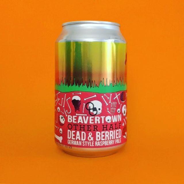 New @beavertownbeer x @otherhalfnyc collaboration Dead & Berried is a 6.2% German-style Raspberry Pale . . #Beer #edinburgh #craftbeer #beerstagram #beertography #instabeer #beergeek #craftnotcrap