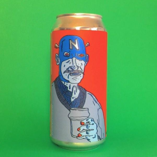 New @northernmonkbrewco x @verdantbrew Patrons Project. 6% IPA with artwork by Ben Mather . . #Beer #edinburgh #craftbeer #beerstagram #beertography #instabeer #beergeek #craftnotcrap