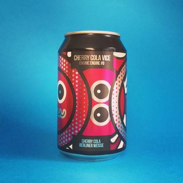 New @magicrockbrewing Cherry Cola Vice, 5.5% Berliner weisse with cherry, kola nut and loads of other kola botanics  #Beer #edinburgh #craftbeer #beerstagram #beertography #instabeer #beergeek #craftnotcrap