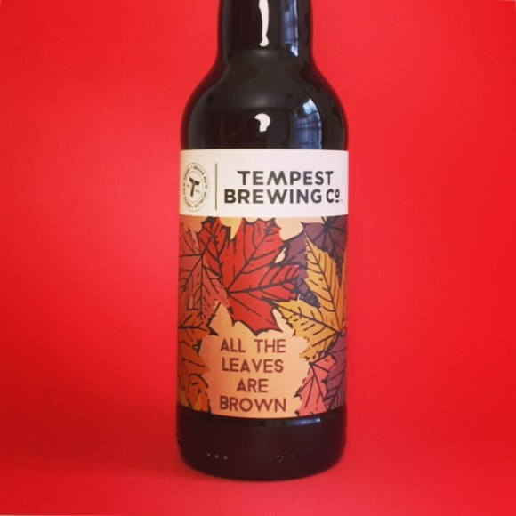 New @tempestbrewingco All The Leaves Are Brown, 10.5% Imperial Brown Ale with Maple Syrup . . #Beer #edinburgh #craftbeer #beerstagram #beertography #instabeer #beergeek #craftnotcrap #imperialstout #imperialbrownale